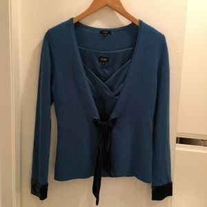 Hobb Wool Sweater and Matching Silk Top